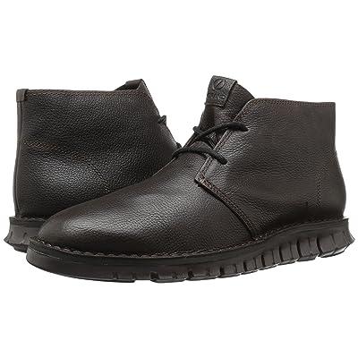 Cole Haan Zerogrand Stitchout Chukka (Java Leather/Dark Roast) Men