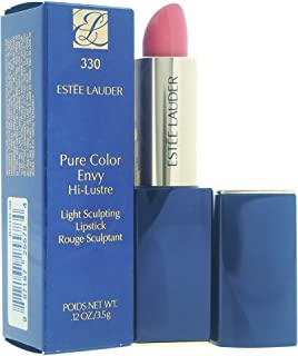 Estee Lauder Pure Color Envy Hi-Luster Light Sculpting Lipstick, No. 330 Bad Angel, 0.12 Ounce