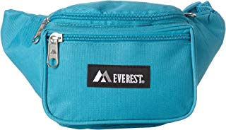 Everest Signature Waist Pack - Standard, Turquoise, One Size