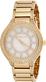 Michael Kors Kerry Women's Mother Of Pearl Dial Stainless Steel Analog Watch - MK3312