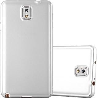467a86270cd Cadorabo Funda para Samsung Galaxy Note 3 en Metal Plato - Cubierta  Protección de Plástico Duro