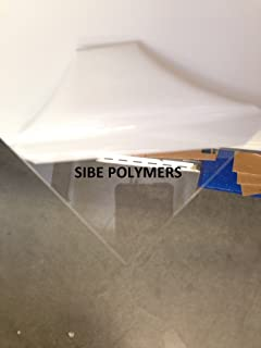 SIBE-R Plastic Supply Acrylic Plexiglass Plastic Sheet 1/8