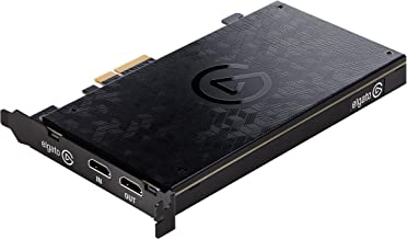 Elgato Game Capture 4K60 Pro - 4K 60fps capture card with ultra-low latency technology for recording PS4 Pro and Xbox One X gameplay, PCIe x4 (Renewed)