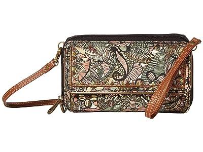 Sakroots Luna Smartphone Crossbody (Sienna Spirit Desert) Cross Body Handbags