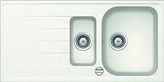 respekta ORLANDO1.5W Spüle, Weiß