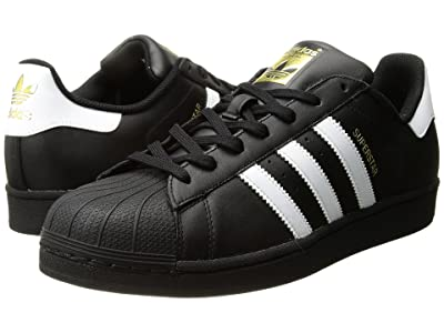adidas Originals Superstar Foundation (Black/White/Black) Men
