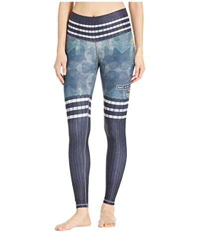 Niyama Sol Jane Leggings (Navy Camo) Women