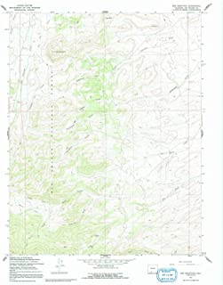 Colorado Maps - 1967 Dog Mountain, CO USGS Historical Topographic Map - Cartography Wall Art - 44in x 55in