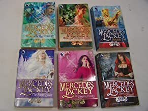 Tale of Five Hundred Kingdoms - by Mercedes Lackey - Complete 6 Book Set: The Fairy Godmother, Fortune's Fool, The Sleepin...