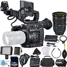 Canon EOS C200 Cinema Camera -EF-Mount International Model (2215C002) Bundle + Canon 24-70 F/2.8L II USM + Memory + More