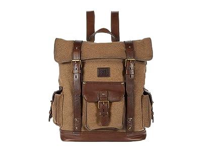 Frye Ethan Backpack (Wheat) Backpack Bags