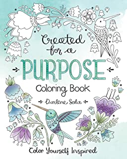 Created for a Purpose Coloring Book (Color Yourself Inspired)