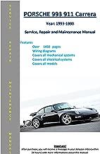 Porsche 993 Carrera 911 From 1993-1998 Service Repair Maintenance Manual