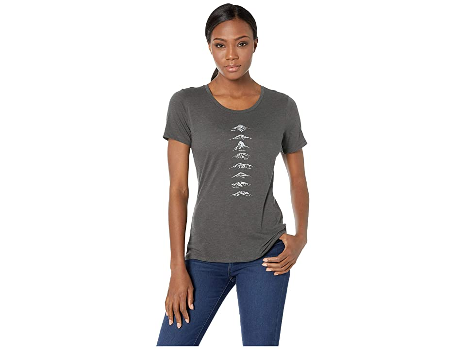 Columbia Pick Your Peaktm T-Shirt (Charcoal Heather) Women