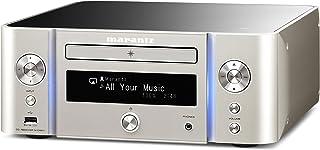 marantz CDレシーバー Bluetooth・Airplay ワイドFM対応/ハイレゾ音源対応 シルバーゴールド M-CR611/FN