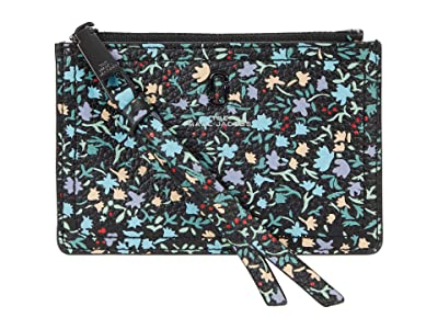Marc Jacobs The Softshot Ditsy Floral Top Zip Multi Wallet