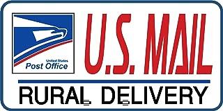 Artisan Owl U.S. Mail Delivery Magnetic Sign for Rural Delivery Carrier Magnet USPS - 6