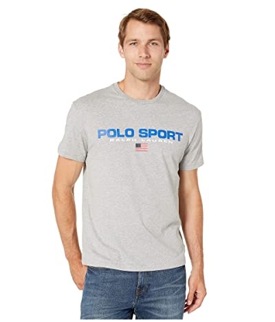 Polo Ralph Lauren Classic Fit Polo Sport Tee (Andover Heather) Men