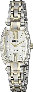 Women's Tressia Solar Diamond Bezel Watch