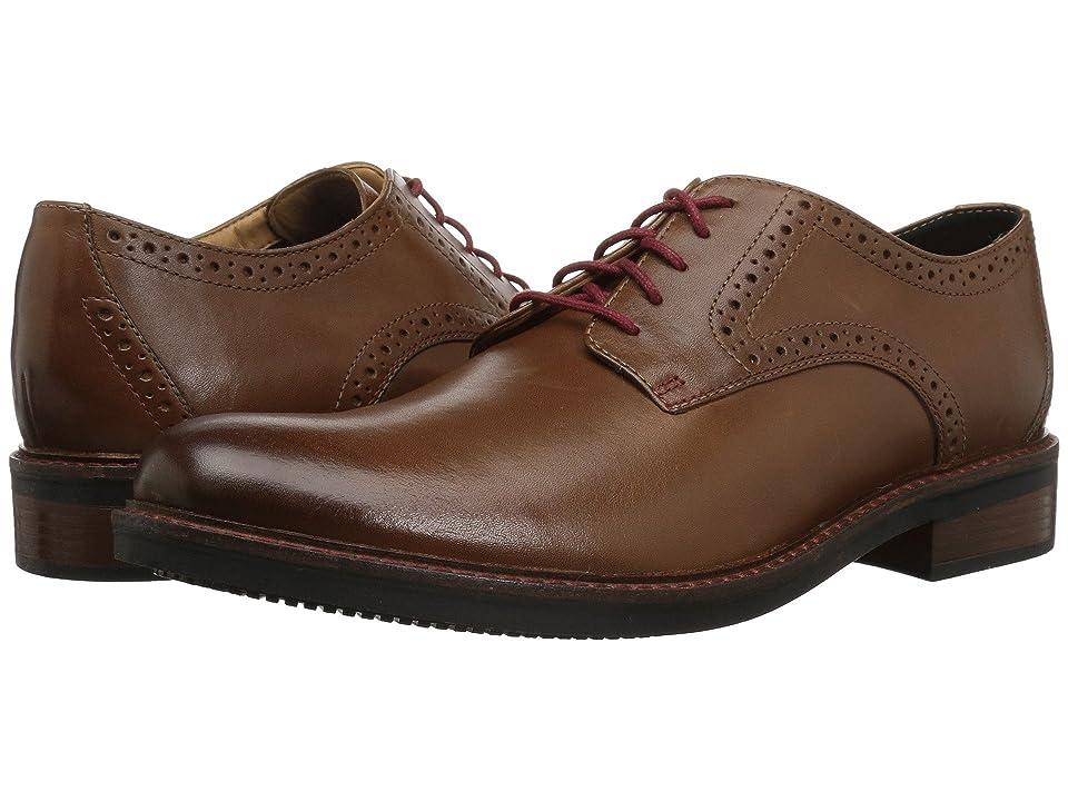 Bostonian Maxton Plain (Dark Tan Leather) Men