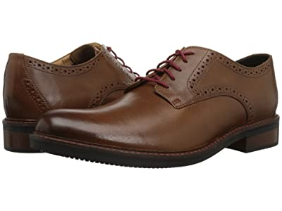 Bostonian Maxton Plain (Dark Tan Leather) Men