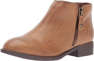 حذاء نسائي خفيف سهل الارتداء من NINA Girls Elma ، بني، مقاس 1 M أمريكي للأطفال الصغار
