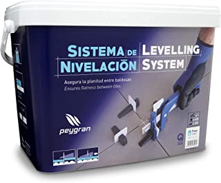 Peygran Tile Leveling System Super KIT 1/8 (3MM) Includes Pliers/Tool, 400 Clips, 200..