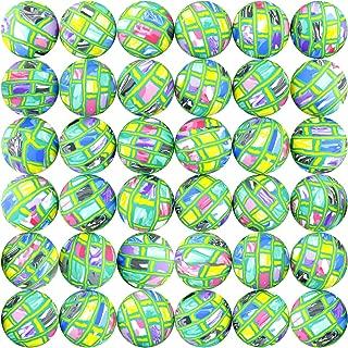 Bouncy Balls 50 pcs 45mm Bulk Rubber Ball Big Bouncing Superballs Large Toys for Vending Machine