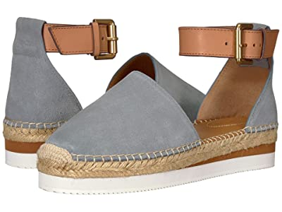 See by Chloe SB26150 (Medium Blue Natural Calf) Women