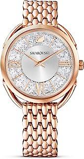 SWAROVSKI Women's Crystalline Glam Quartz Watch Collection, Stainless Steel