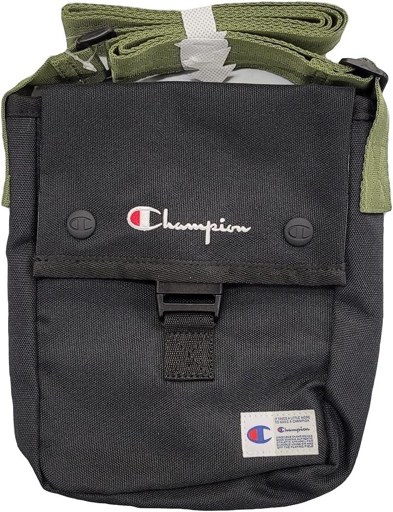 Champion Lifeline Crossbody Shoulder Bag One Size Black/Multi - CM2-0767