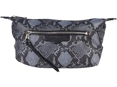 Rebecca Minkoff Cosmetic Pouch (Steel Python) Handbags