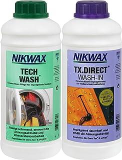 NIKWAX Uniseks kledingwasmiddel Nikwax Tech Wash+TX-Direct, 2 x 1 l (VPE3)