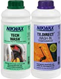 Nikwax Bekleidungswaschmittel Tech Wash+TX-Direct, 2x1l, transparent, One size,