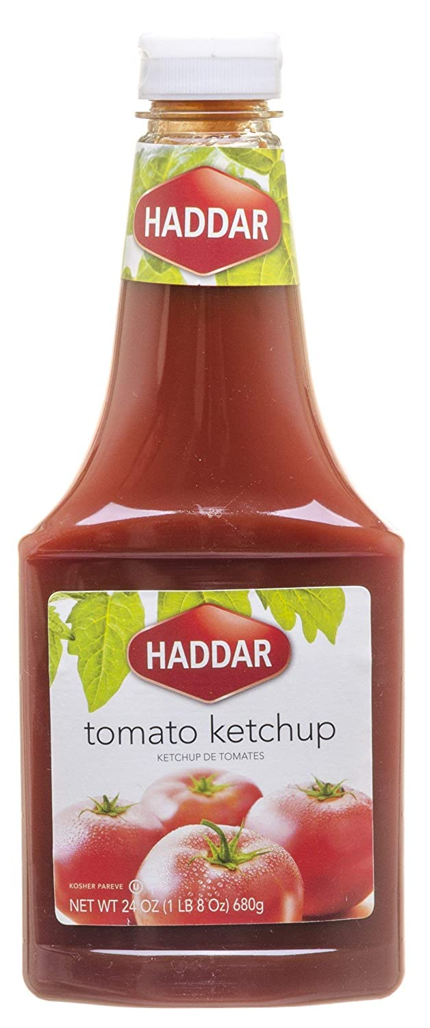 Haddar Tomato Ketchup Kosher For Passover half 24 Oz. Of 6. 55% OFF Pack