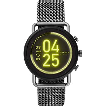 Skagen Connected Falster 3 Gen 5 Stainless Steel Touchscreen Smartwatch with Heart Rate, GPS, NFC, and Smartphone Notifications