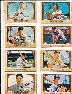 Phil Rizzuto New York Yankees #10 SIGNED 1955 Bowman baseball card