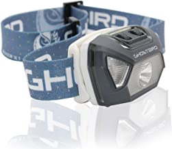 Ghost Bird Seiker X1 Head Lamp - LED Rechargeable Cree XPE - Waterproof IPX7, Freezeproof, Smashproof Perfect for Your Run...