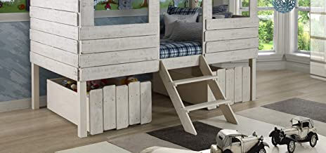 DONCO Kids 1381-RS, Dual Loft Drawers, One Size, Rustic Sand