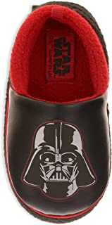Lucasfilm Ltd Star Wars Toddler Boys Darth Vader Slippers Loafer Style House Shoes