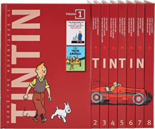 The Adventures of Tintin: The Complete Collection (90th Anniversary Slipcase Edition)