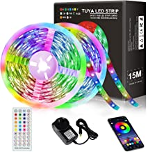 JORAGO 15M(2x7.5M) LED Strips 270LED TUYA APP 5050RGB with 12V Power Supply Unit & AU DC Infrared CE ROHS(SAA Certified)