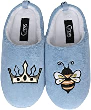 Circus by Sam Edelman Jilly Embroidered Plush Slippers