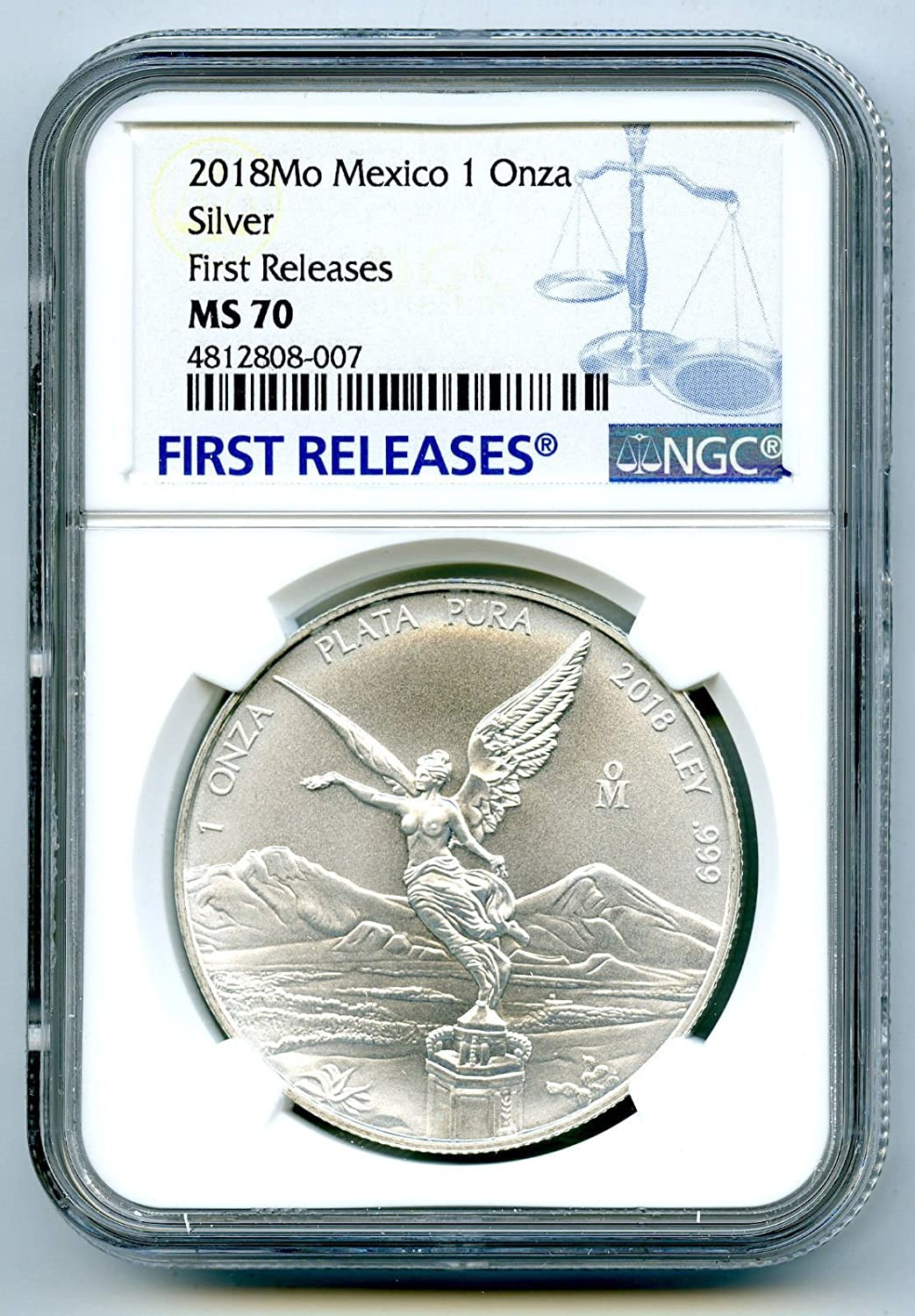 2018 O Store Mexico MO Libertad 1 OZ .999 FIRST Silver Coin ONZA Popular shop is the lowest price challenge Fine