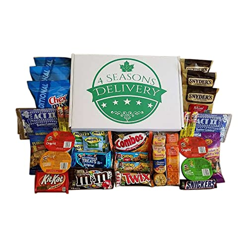 Sweet And Salty Snack Box College Care Package Movie Night Snacks Military