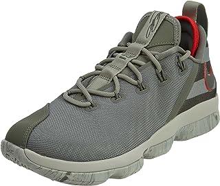 NIKE Lebron XIV Low Men's Basketball Shoes Dark Stucco/Dark Stucco 878636-003 (9.5 D(M) US)
