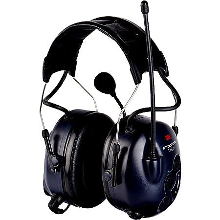 3M PELTOR MT53H7A4400-EU - LiteCom Pro II, Cuffie con microfono radio bidirezionali, Blu