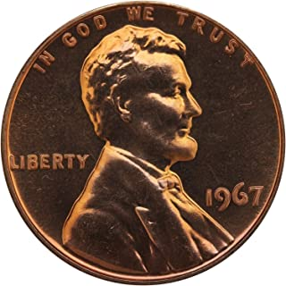 1967 Gem Special Mint Set SMS Lincoln Memorial Cent Penny Uncirculated US Mint