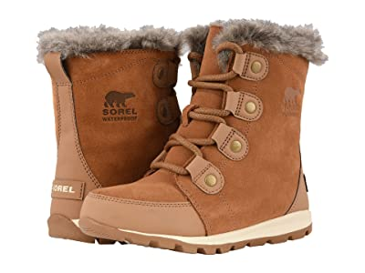 SOREL Kids Whitneytm Suede (Little Kid/Big Kid) (Elk/Natural) Girls Shoes