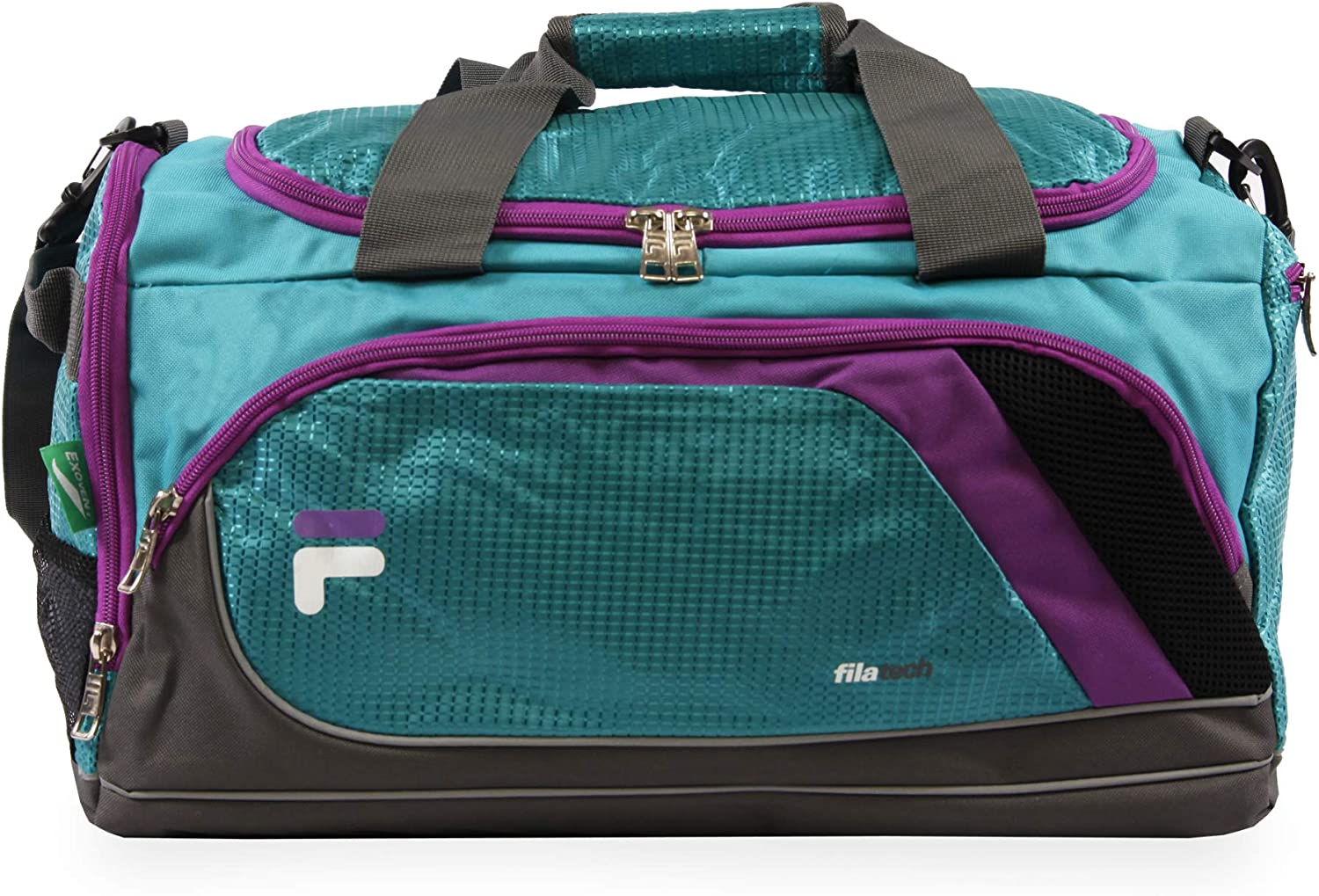 Fila Vorteil Small Travel Gym Sport Duffel Bag, blaugrün (blau) - FL-SD-3619
